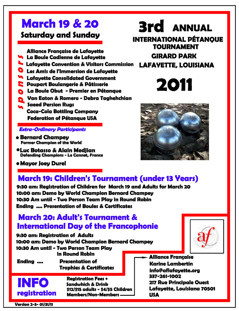 Our 2011 Poster
