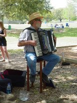 Phillip Gould plays the French Accordion